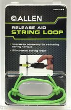 Allen Archery Release Aid String Loop (3-Pack) - Lime Green - 54514A
