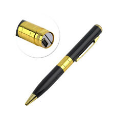 HD 1280x1024 MINI DV Pen USB Camera Spy Hidden DVR CCTV Security TF SD Card