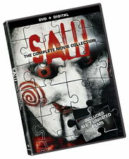 Saw: The Complete Movie Collection 1-7 Series DVD Set Brand New Free Shipping