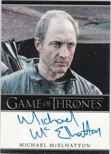 GAME OF THRONES SEASON 3 MICHAEL MCELHATTON ROOSE BOLTON AUTOGRAPH LIMITED