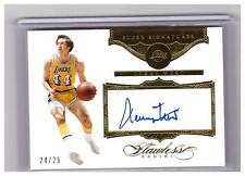 2015-16 Flawless Jerry West Auto Autograph GOLD Card #D /25 !!!