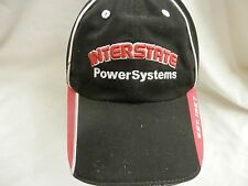 trucker hat baseball cap cool cloth INTERSTATE POWER SYSTEMS curved brim rare