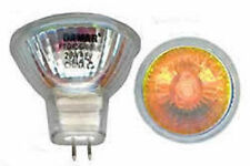 New Premium - Orange MR11 20W 12V volt GU4 G4 Base, Halogen Bulb FTD /O 20 Watt