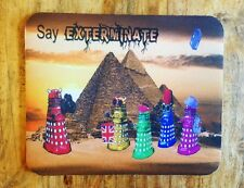 Dr Who Daleks as Tourists in Egypt Mousepad