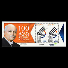 Costa Rica 2015 - 100th Anniv of the Chamber of Commerce Organizations - MNH