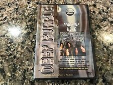 Deep Purpule Machine Head New Sealed DVD!  2002 Kiss Iron Maiden Dio Scorpions