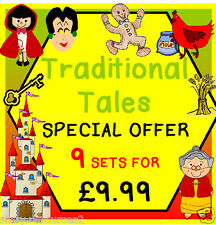 TRADITIONAL TALES FAIRY TALES Teaching resource  EYFS CHILDMINDER STORY  MASKS