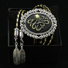 Western Cowboy Octopus Bolo Ties Rodeo Dance Aztec Bootlace Tie Native American