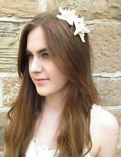 Starfish Headband Silver Beach Headpiece Wedding Hair Crown Mermaid Gold Vtg W75