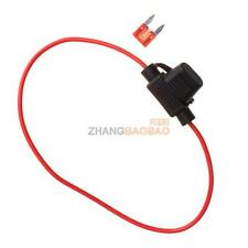 Waterproof Power Socket Car Mini Blade Type In Line Fuse Holders With 10A Fuse