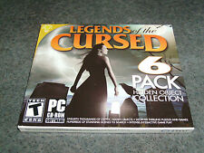 Legends of the Cursed (PC, 2013)6 Pack Hidden Object Collection FACTORY SEALED!