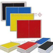 Taekwondo Karate Martial Artrs Rebreakable Boards Yellow Blue Red Black Set