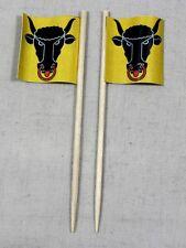 Party-Picker Uri Kanton Schweiz 50 Stk. Dekopicker Papierfähnchen Flagge Food