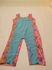 SUN PROTECTION Women blue & pink Bathing modest swim Suit Cover sz S swimming