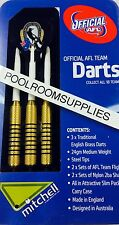 Licensed AFL Aussie Rules COLLINGWOOD MAGPIES Darts Set with 6 Flights & Case