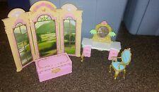 htf Barbie or same size dolls bedroom furniture