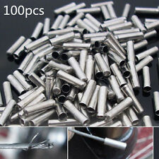 100X Bike Bicycle Shifter Brake Gear Inner Cable Tips Ends Caps Crimps Ferrules