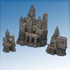 3pcs Set Penn Plax Super Magical Castles Aquarium Decoration Ornaments