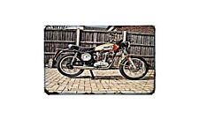 Ducati 350 Scrambler Motorbike A4 photo Retro Bike