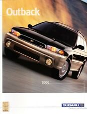 1999 99 Subaru Outback original sales brochure MINT