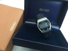 SEIKO 0664-5000 1975 LC Quartz LCD Digital watch - James Bond Rare uhr MOT