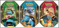 ALL 3 2014 Pokemon EX Power Trio Tin Set of 3 (Charizard, Venusaur & Blastoise)