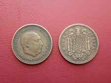 1 PESETA FRANCO 1947-49 ESPAÑA BONITA