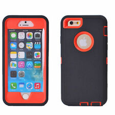 """Hybrid Protective Shockproof Hard Case Cover For Apple iPhone 6 6S 4.7/5.5"""" Plus"""