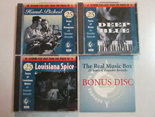 THE REAL MUSIC BOX 25 YEARS OF ROUNDER RECORDS 7CD SET - INCOMPLETE SET 9CD SET