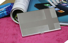 Steel Silver Aluminium Business ID Credit Card Holder Case Cover Cross