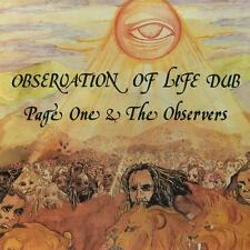 Page One & The Observers(180 Gram Vinyl LP)Observation Of Life Dub-Burn-M/M