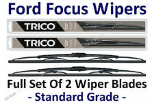 "2000-2011 Ford Focus Sedan/Coupe Wiper Blades Set of 2: 22""+19"" - 30221/30190"
