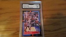1984 MICHAEL JORDAN USA OLYMPIC TEAM PROMO ROOKIE BASKETBALL CARD GRADED MINT 10