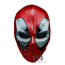 High-grade Resin Deadpool Mask Collectible Statue Movie Halloween Costumes Props