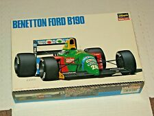 BENETTON FORD B190 1990 HASEGAWA 1:24 NEW COMPLETE MODEL KIT,Instructions,decals