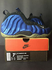 1997 ORIGINAL DS NEW NIKE AIR FOAMPOSITE ONE 1 ROYAL PENNY MEN 7.5 WOMEN 9 7 8