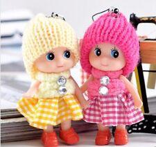 Kids Toys Dolls Soft Baby Toy Mini Doll For Girls Gift Keychain