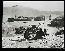 Glass Magic Lantern Slide SAMARITAN INN C1900 ISRAEL