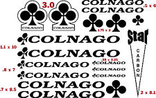 COLNAGO  BICYCLE VINYL CUT DECAL KIT (17)  $13.99  FREE SHIPPING   CHOOSE COLOR