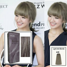 Berina Light Ash Blonde color A38 Permanent Hair Dye Color Cream