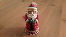 "Jim Shore Heartwood Creek ""Santa with Christmas Tree"" Tree Decoration - New"