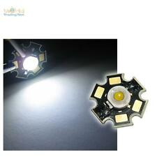 5 x Hochleistungs LED Chip 3W pur-weiß HIGHPOWER STAR