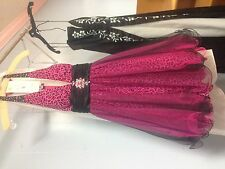 Pink and lepoard prom dresses sz8 short and cute!!!