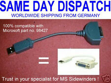 USB to Gameport Adapter for Microsoft Sidewinder NEW