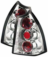 Peugeot 307 Estate 2002-2007 Clear Chrome Lexus Rear Back Tail Lamp Lights -Pair
