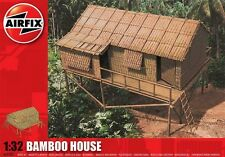 Airfix A06382 Bamboo House Kit 1/32 Scale New Boxed Free Tracked Post