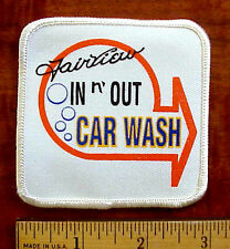 FAIRVIEW IN n' OUT CAR WASH GOLETA ( SANTA BARBARA CALIF.) EMPLOYEE PATCH