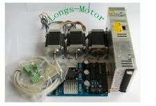 【Germany ship】Nema 23 Stepper Motor 270oz-in,3A+3 Axis Board CNC No tax to EU