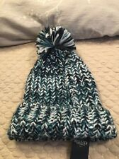 NWT Hollister By Abercrombie & Fitch Classic Pom Pom Beanie Winter Hat OSFM