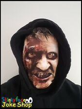 Scary Man Full Head Mask Realistic Halloween Printed Lycra Funny Fancy Dress
